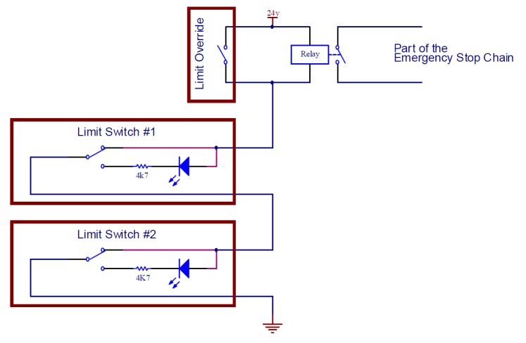 Cnc Limit Switch Schematics - Wiring Diagram Features