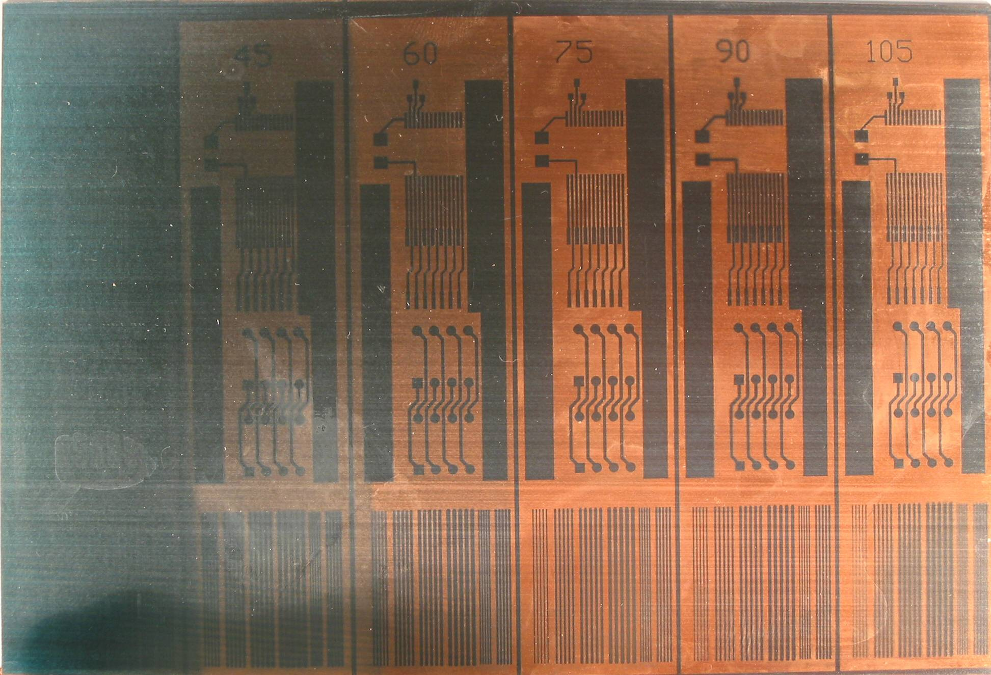 Uv Exposure Light Box Vertical Etching Tank For Diy Pcb Electronicslab The Picture Is Of Pretty Poor Quality Focusing Ok But Lighting And Dirty Circuit Board Make It Look As You Can See 30 Seconds